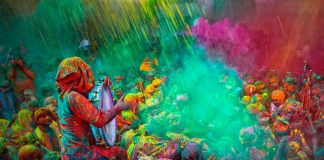 Holi Festival colour run celebrate holi this year