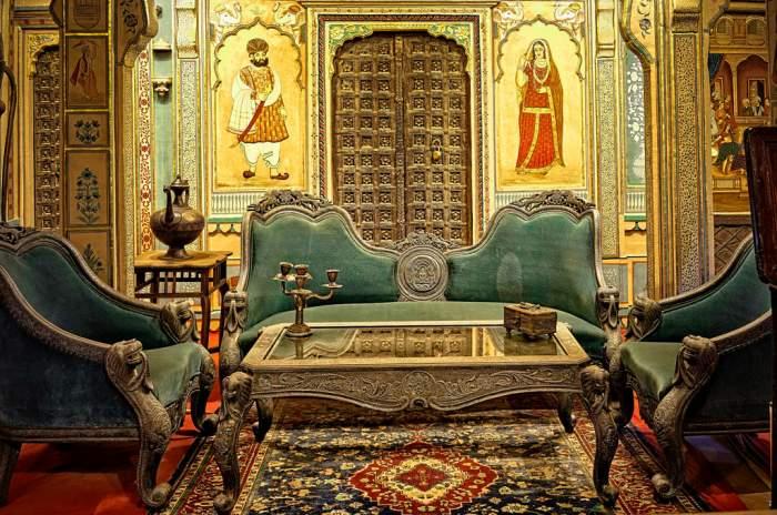 Interior of Patwa Haveli