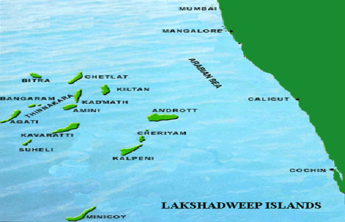 geographical facts of lakshadweep