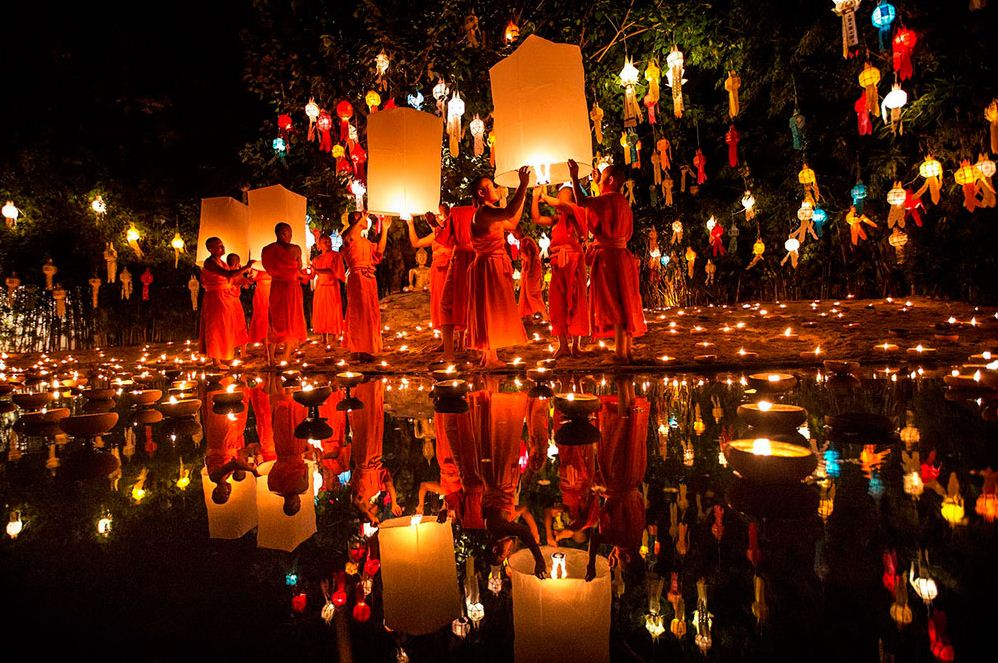 Air lantern festival