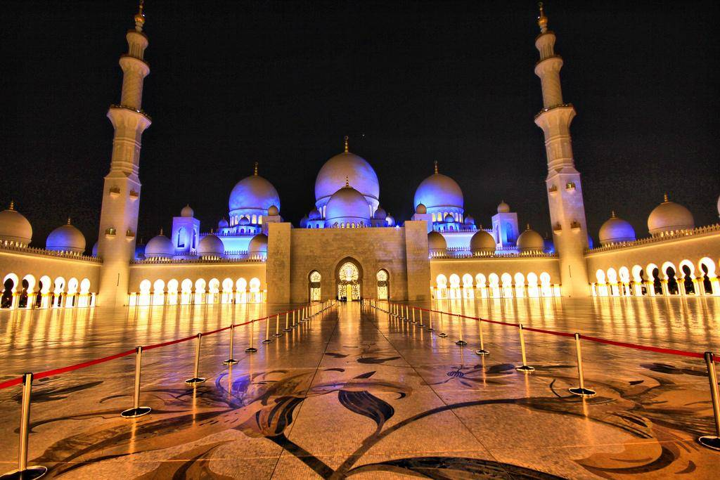 thousand light mosque