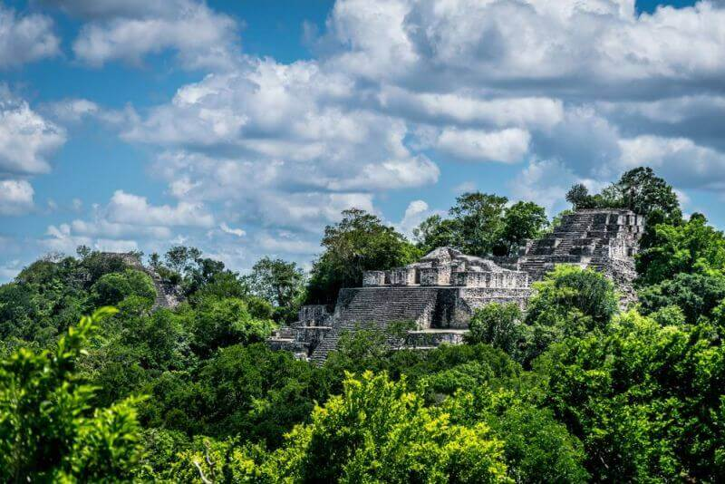 Calakmul, Mexico, ancient lost cities in the world