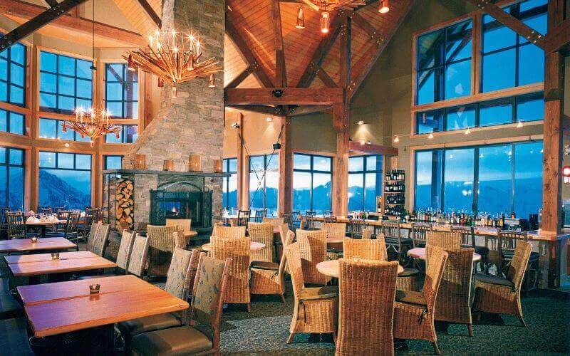 best restaurant views, Eagle's Eye Restaurant, British Columbia, Canada