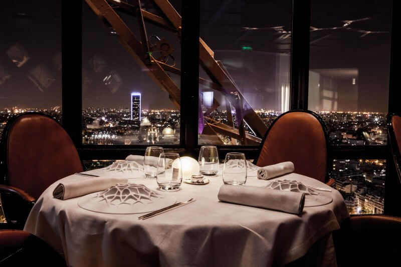 best restaurant views, Paris