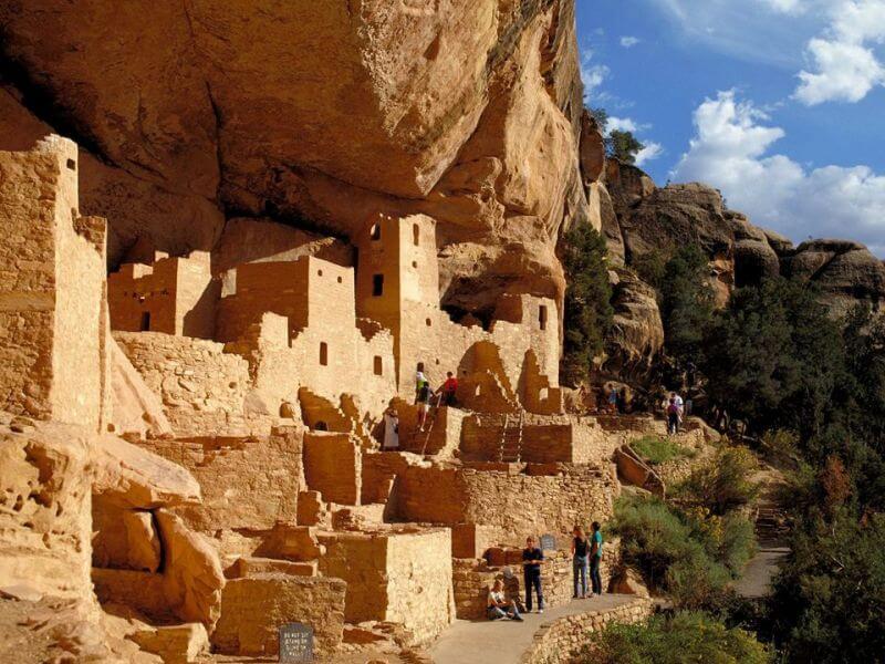 lost cities of the ancients, Mesa Verde, Colorado, USA