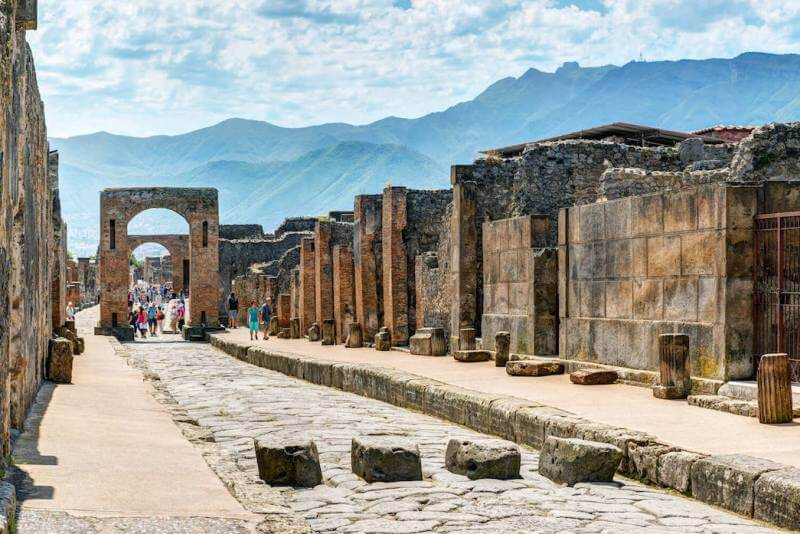 Ancient lost cities in the world, Pompeii, Italy