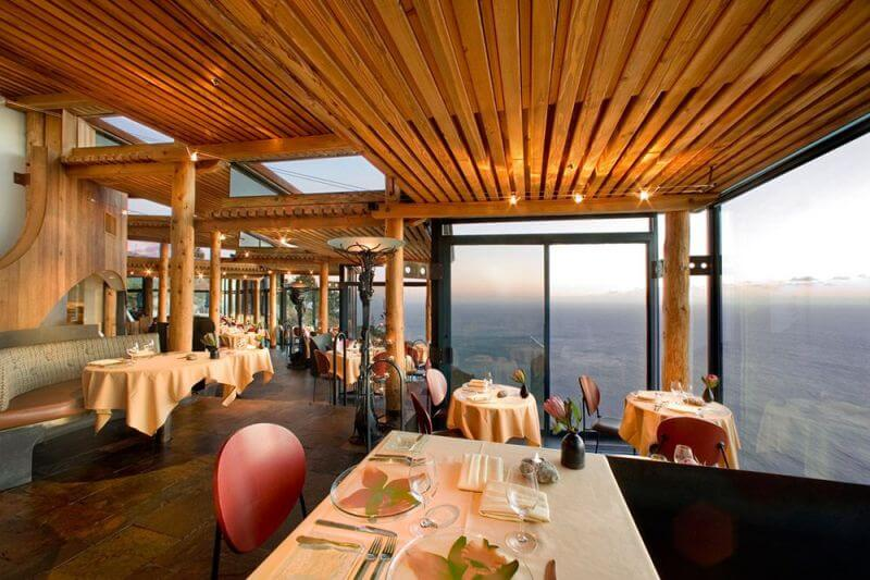 most scenic restaurants, Big Sur, USA