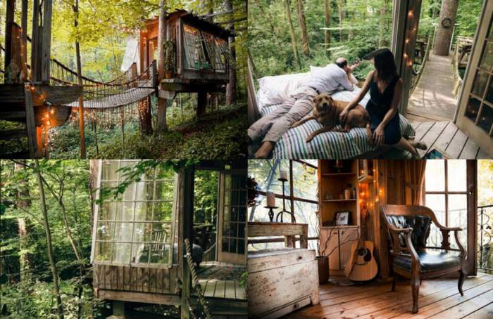 A Treehouse in Atlanta interiors