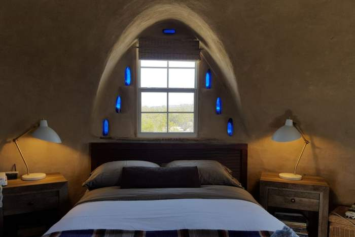 An Adobe Dome in Texas interiors