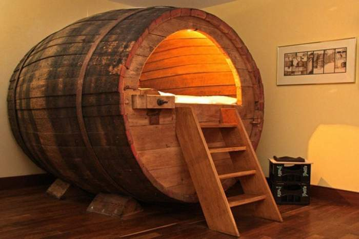 Beer Barrel in Ostbevern, Germany