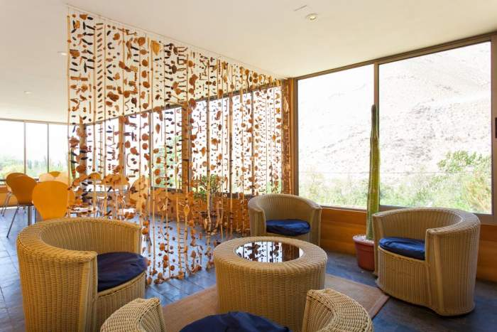 ElquiDomos Astronomic hotel at Paiguano in Coquimbo, Chile interiors