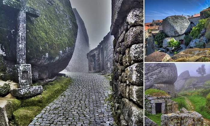 Medieval village Street