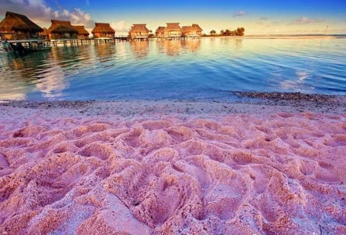 Pink Sands Beach, Dunmore, Bahamas