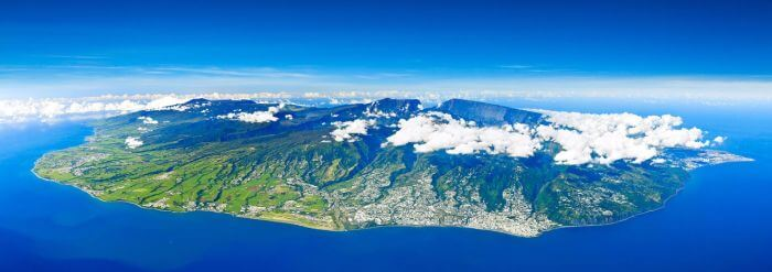Reunion Island Indian Ocean.
