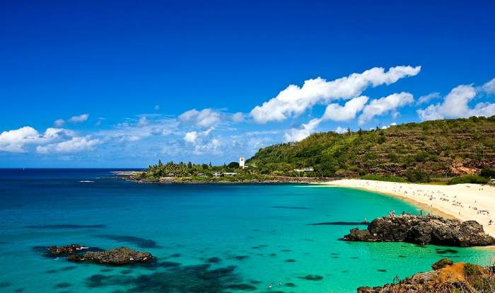 Waimea Bay Beach Park, Oahu, Hawaii