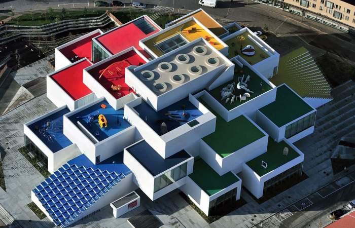 Building Made of LEGO Bricks Denmark