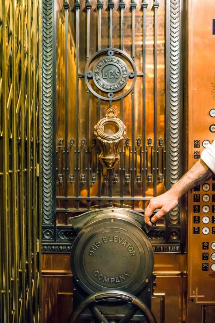 Man Operated Elevator seattle