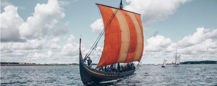 Sail a Viking Long Boat