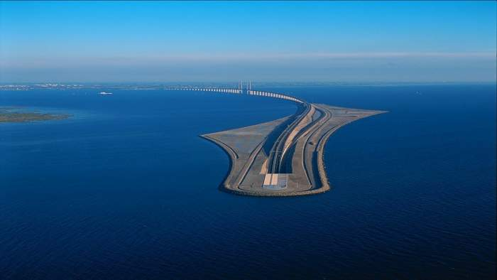 Underwater Bridge Denmark