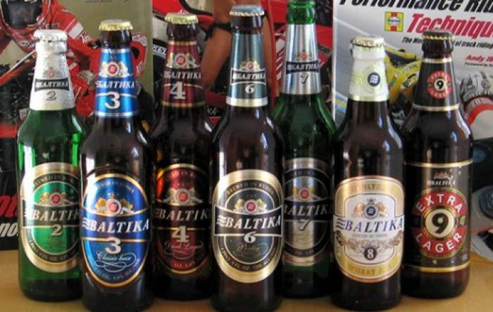 Baltika beer Moscow, Russia