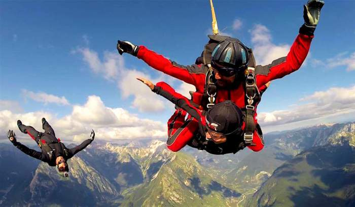 Bled, Slovenia skydiving