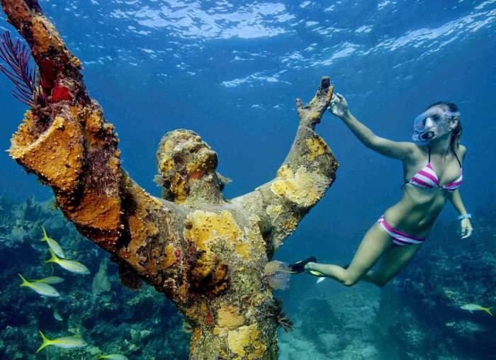 Christ of the Abyss, Italian Riviera, Portofino