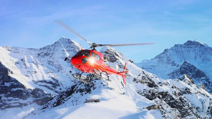 Helicopter Skydiving Switzerland