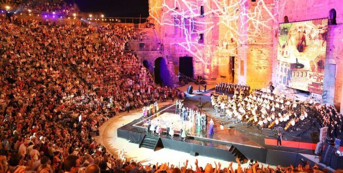 Les Choregies d'Orange, festivals in France