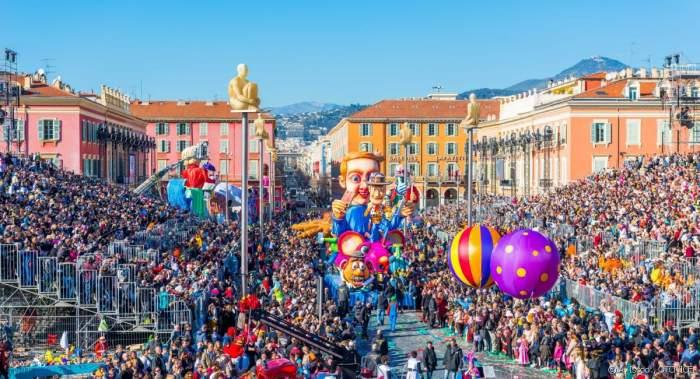 Nice Carnival, festivals in France