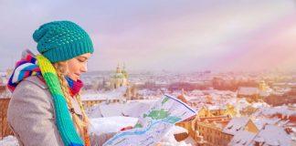 Prague in winters