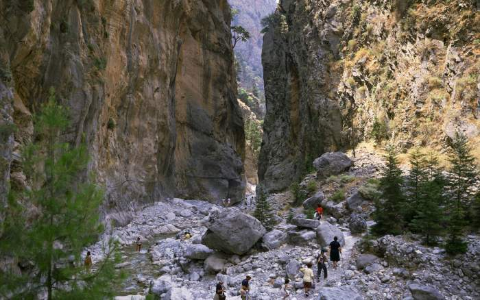 Samaria Gorge Greece