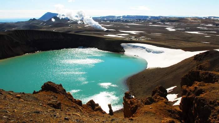 Viti Lake, Iceland