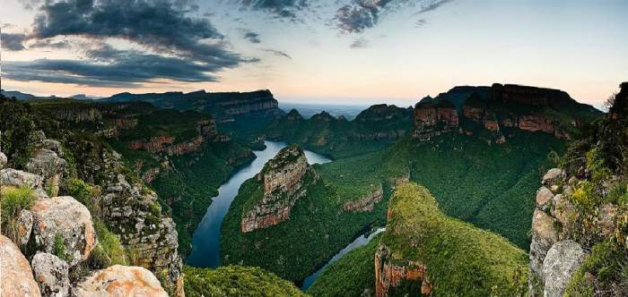 World's Largest Green Canyon