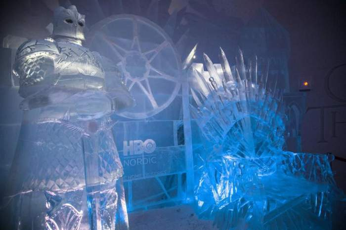 HBO Nordic GOT Ice Hotel