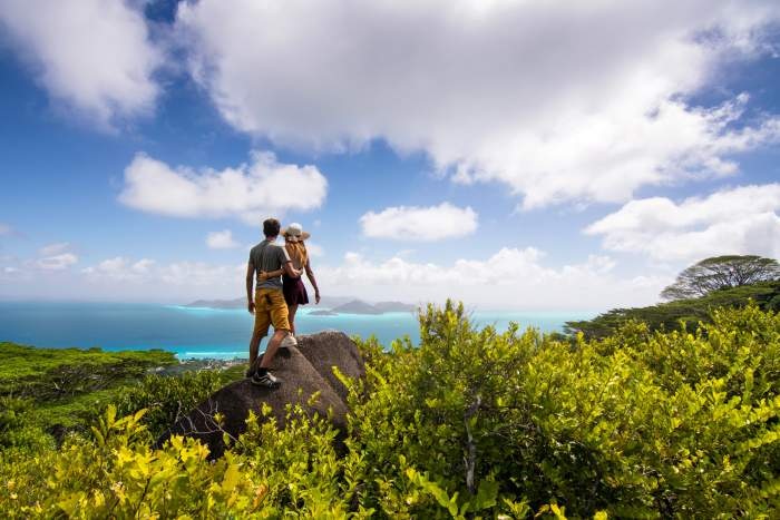 hiking trails in Seychelles