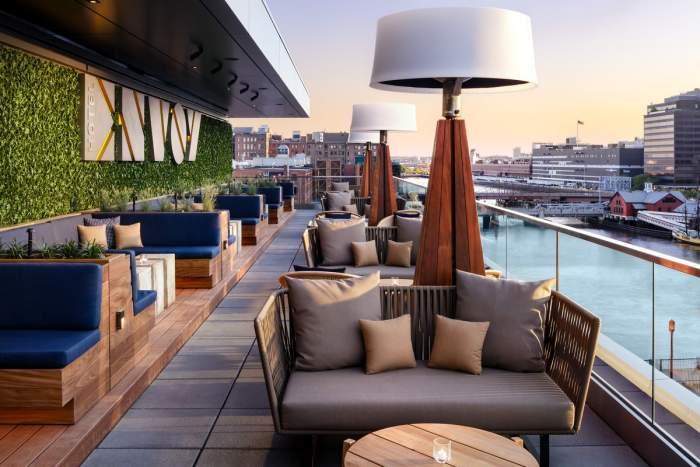 Lookout Rooftop Envoy Hotel