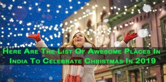 best places in India tpo celebrate Christmas