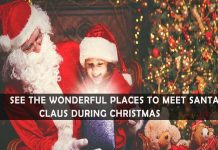 best places to meet santa claus