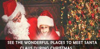 best places to meet santa claus