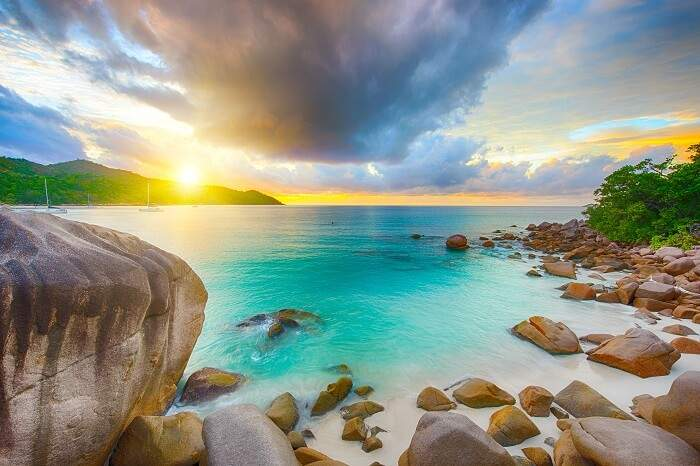 anse lazio beache in seychelles