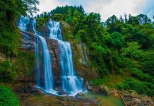 best waterfalls in Sri Lanka