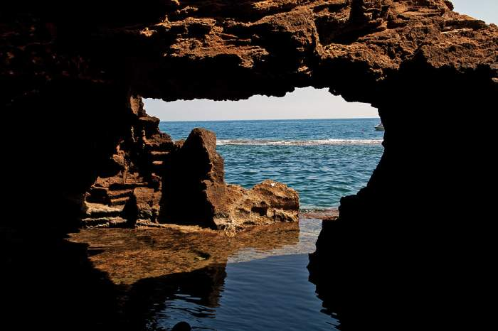 Cave Exploring Throughout the Island