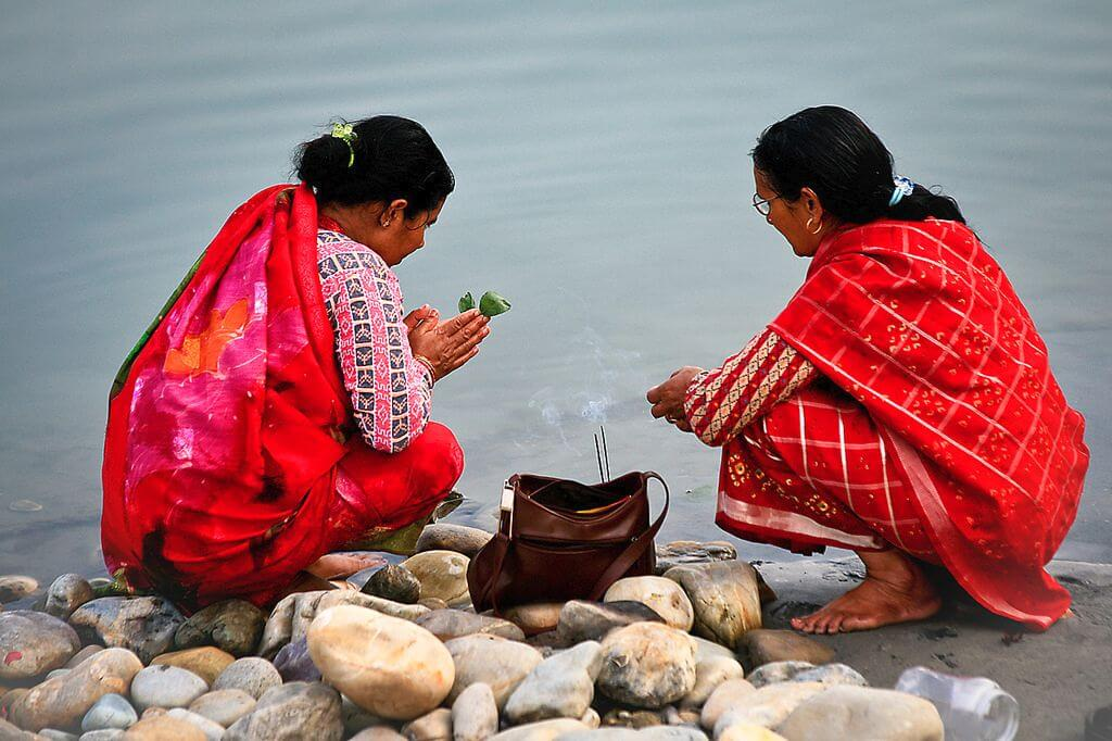 Devghat, Chitwan Mysterious Ladies