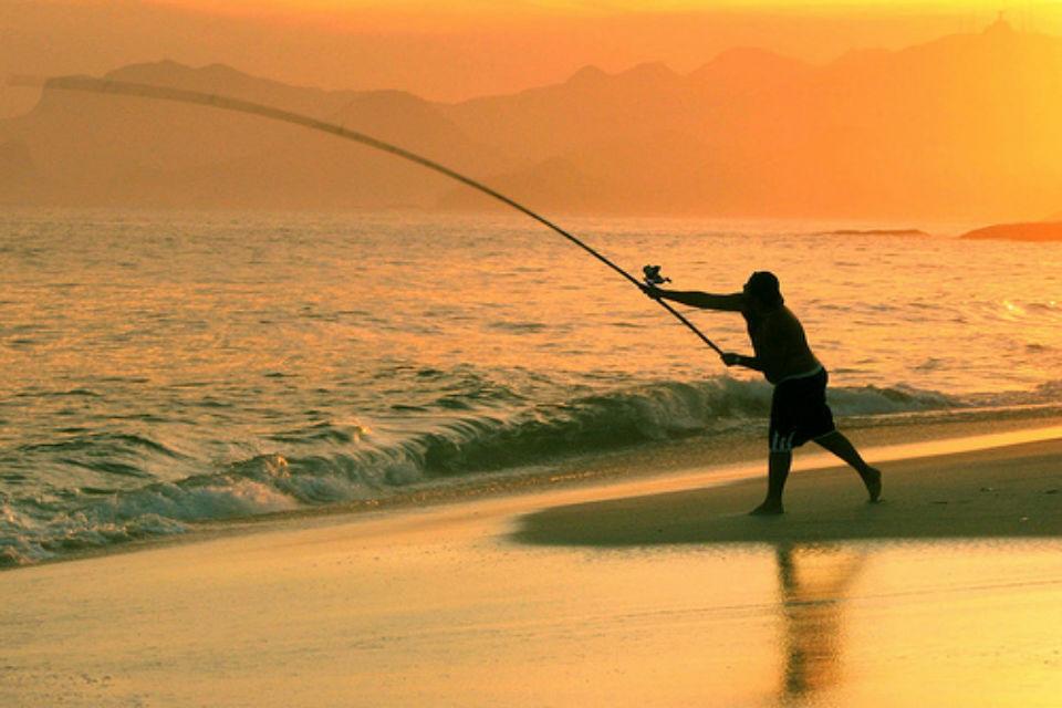 Fishing in Candolim, Goa