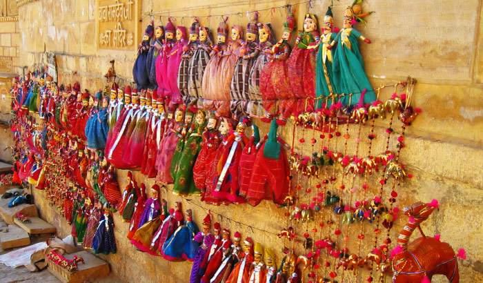 Pansari Bazaar jaisalmer