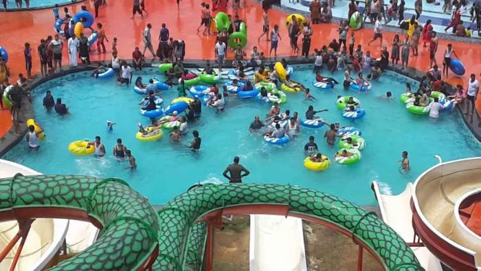 Water World At Fun World & Resorts India