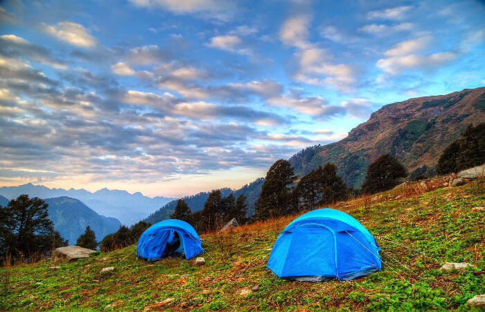best camping tours in Nainital